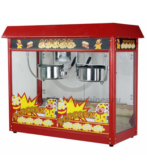 Аппарат для приготовления попкорна на два котла