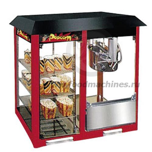 Аппарат для приготовления попкорна с тепловой витриной