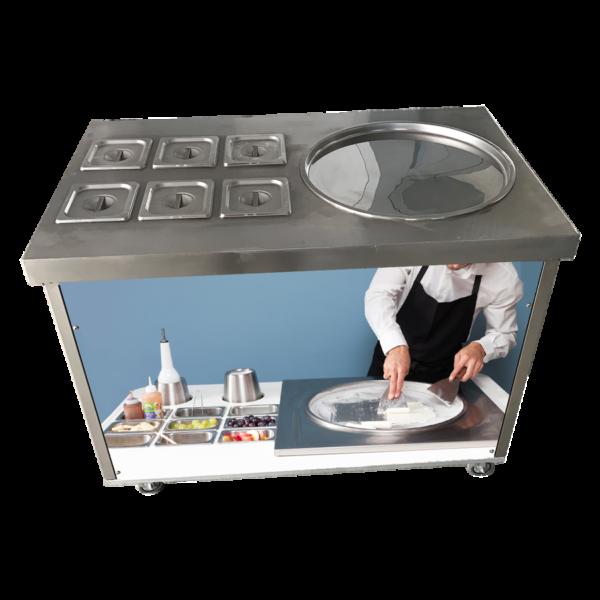 BQL-616R: фризер для жареного мороженого