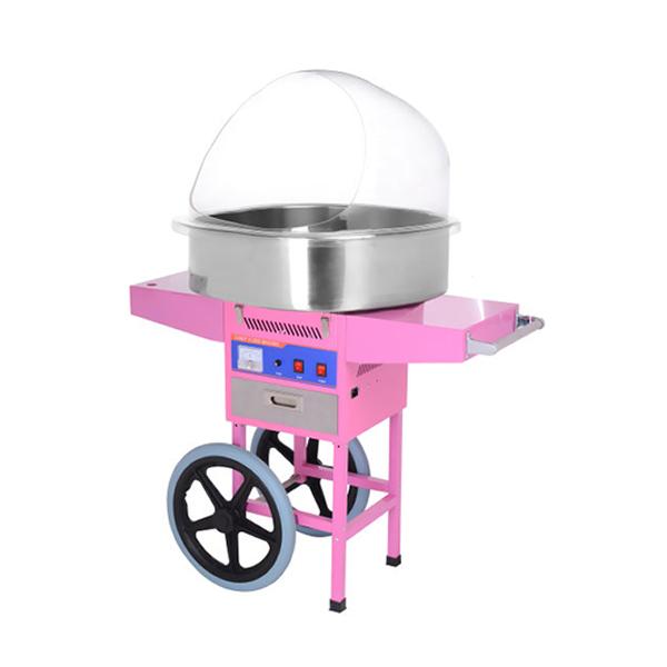 HEC-04C — аппарат для сладкой ваты с куполом