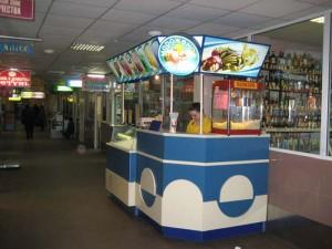 Точка по продаже мороженого
